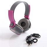 MDISK Headphone [TX 608] - Ungu - Headphone Portable