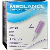 MEDLANCE Plus Lite 25G/1.5mm [STF7043] (Merchant) - Alat Ukur Kadar Gula