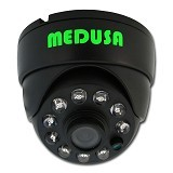 MEDUSA CCTV Dome CCD Sony Effio [04A5] - Black - Cctv Camera