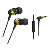 MEELECTRONICS M-Duo Dual Dynamic Driver InEar with Microphone dan Remote DD53P [CSI-MLSK0EGD] - Gold - Earphone Ear Monitor / IEM