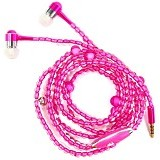 MEELECTRONICS Pearl Chain In-Ear Fashionable Earphone [CSI-OMSK36PN] - Pink - Earphone Ear Monitor / Iem