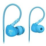 MEELECTRONICS Sport-Fi In-Ear Earphones with Remote and Mic [M6P] - Blue - Earphone Ear Monitor / Iem