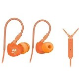 MEELECTRONICS Sport-Fi In-Ear Earphones with Remote and Mic [M6P] - Orange - Earphone Ear Monitor / Iem