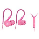 MEELECTRONICS Sport-Fi In-Ear Earphones with Remote and Mic [M6P] - Pink - Earphone Ear Monitor / Iem