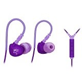 MEELECTRONICS Sport-Fi In-Ear Earphones with Remote and Mic [M6P] - Purple - Earphone Ear Monitor / Iem