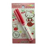 MEILYNGIFTSHOP Gunting Bulat Hello Kitty - Red - Gunting Kertas