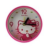 MEILYNGIFTSHOP Jam Bulat Full Print - Hello Kitty - Jam Meja