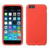 MELKCO Silikonovy Apple iPhone 6/6s - Red (Merchant) - Casing Handphone / Case