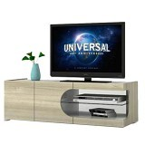 MELODY TV Stand Folsom Latin Walnut - Rak & Meja TV
