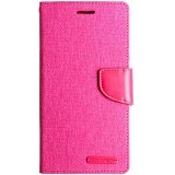 MERCURY Case Samsung Galaxy E7 Goospery Fancy Diary Canvas - Pink (Merchant) - Casing Handphone / Case
