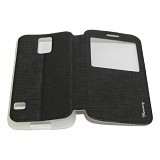 MERCURY Flipcover Case View for Samsung Galaxy S5 Mini i9600 - Black (Merchant) - Casing Handphone / Case