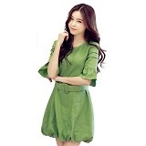 METALINDO Sweet Round Dress [JY774210] - Mini Dress Wanita
