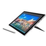 MICROSOFT Surface Pro 4 (Core i7-6600U) - Silver (Merchant) - Notebook / Laptop Hybrid Intel Core I7