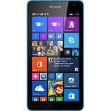 MICROSOFT Lumia 535 Dual SIM - Blue/Cyan - Smart Phone Windows Phone