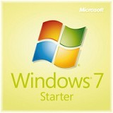 MICROSOFT Windows 7 Starter Edition 32bit - Client Software Windows Os Oem