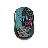MICROSOFT Wireless Mobile Mouse 3500 Artist Edition - Mouse Mobile