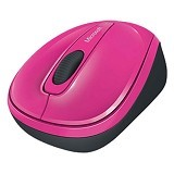 MICROSOFT Wireless Mobile Mouse 3500 [GMF-00280] - Magenta Pink - Mouse Desktop