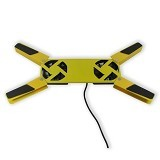 MID Cooling Fan Lipat Notebook [MID-LJ818] - Kuning - Notebook Cooler