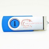 MIDASFORCE Flashdisk 8GB [W266] - Blue - Usb Flash Disk Basic 2.0