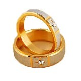 MIKI JEWELRY Cincin Couple Size 9 [cc003] (Merchant) - Cincin