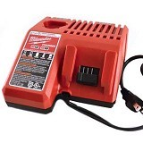 MILWAUKEE Power Tools Battery Dual Charger M12 [18C] - Aksesori Gergaji