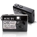 MINI DV Kamera Mini - Camera Pocket / Point and Shot