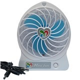 MINI FAN Fan Charger - Kipas Angin Meja