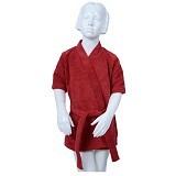 MIPACKO MICROFIBER Kimono Tangan Pendek Size S [242009] - Red - Handuk Bayi dan Anak