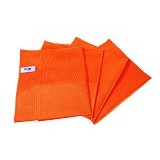 MIPACKO MICROFIBER Microfiber Glass Cloth - Orange - Lap Serbaguna