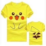MIT Couple T-Shirt  Pika  - Yellow (V)