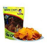 MIUN CHIPS Ubi Cilembu Rasa Hot Cheese 70gr - Keripik Talas, Ubi & Singkong