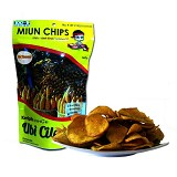 MIUN CHIPS Ubi Cilembu Rasa Hot Seaweed 70gr - Keripik Talas, Ubi & Singkong