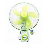 MIYAKO Wall Fan [KAW-1662] - White Green (Merchant) - Kipas Angin Dinding