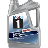 MOBIL 1 Advanced Full Synthetic Motor Oil 5W-50 4Ltr
