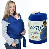 MOBY WRAP Gendongan Bayi - Dark Blue - Carrier and Sling