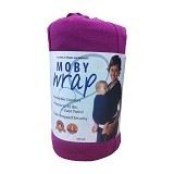 MOBY WRAP Gendongan Bayi - Purple - Carrier and Sling