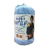 MOBY WRAP Gendongan Bayi - Soft Blue - Carrier and Sling