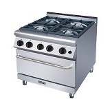 MODENA Gas Range With Oven [GR 7740 GO] - Kompor Gas