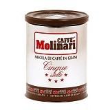 MOLINARI COFFEE Cinque Stelle - Kopi Bubuk & Kemasan