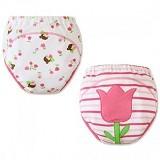 MOM AND BAB Training Pants 2 Pack Size 90 [MB-flower] - Flower - Celana Bepergian/Pesta Bayi dan Anak