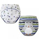 MOM AND BAB Training Pants 2 Pack Size 90 [MB-owl] - Owl - Celana Bepergian/Pesta Bayi dan Anak