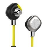 MORUL Sporty NFC Swimming Stereo Earbuds Universal Wireless [U5 IPX7] - Yellow (Merchant) - Headset Bluetooth