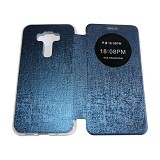 AIMI Flipcover Fitur View for Asus Zenfone 3 ZE520KL - Dark Blue (Merchant) - Casing Handphone / Case