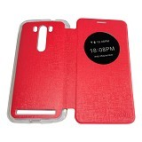 AIMI Flipcover Fitur View for Asus Zenfone 5.5 ZE550KL - Red (Merchant) - Casing Handphone / Case