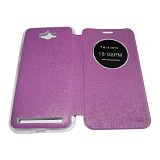 AIMI Flipcover Fitur View for Asus Zenfone Max ZC550KL - Purple (Merchant) - Casing Handphone / Case