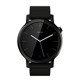 MOTOROLA Moto 360 2ndGen 42mm - Small Black Leather