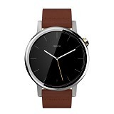 MOTOROLA Moto 360 2ndGen 46mm - Cognac Leather - Smart Watches