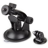 MR. GADGET Long Neck Car Window Suction Cup for Action Camera [MRG4] - Tripod Arm, Rail and Macro Bracket