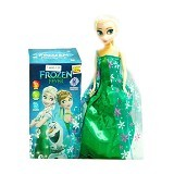 MR TOYS Barbie Frozen Karakter Elsa (Merchant) - Smart Doll / Boneka Pintar
