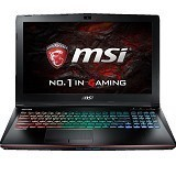 MSI GE62VR 7RF Apache Pro (Core i7-7700HQ Nvidia 1060) - Black - Notebook / Laptop Gaming Intel Core I7